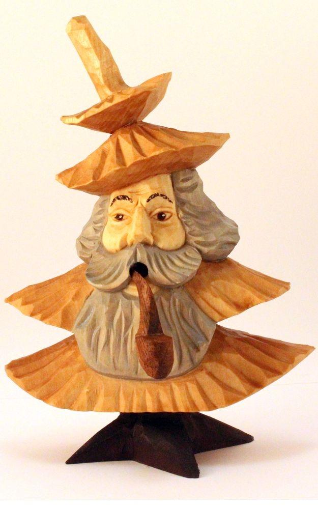 Rauchfigur Tannenbaum-Mann