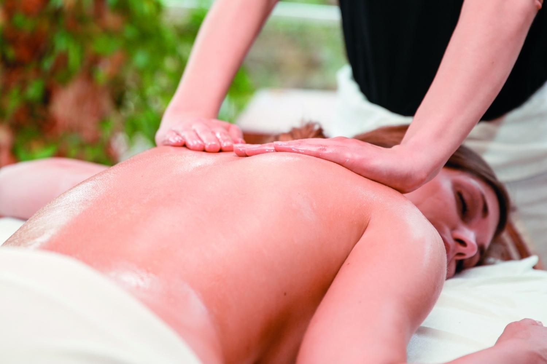 Rücken-Massage
